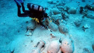 Έρευνες για αρχαίο ναυάγιο στην θαλάσσια περιοχή του Μύτικα