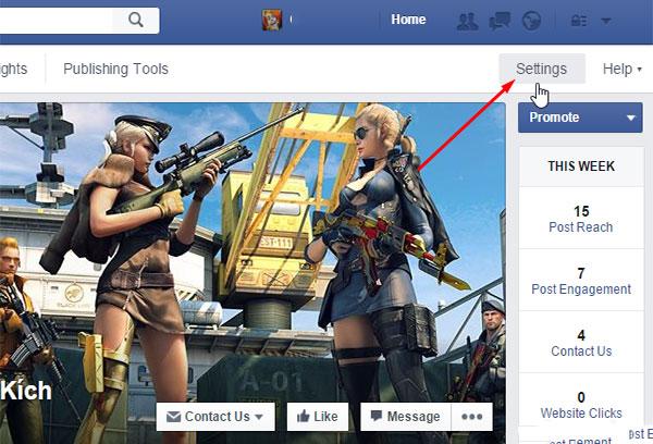 chon cai dat de khoi phuc fanpage facebook
