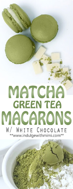 """Matcha"" Green Tea Macaron Recipe"