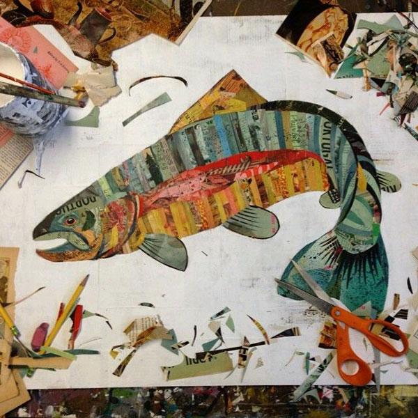 gambar kolase ikan