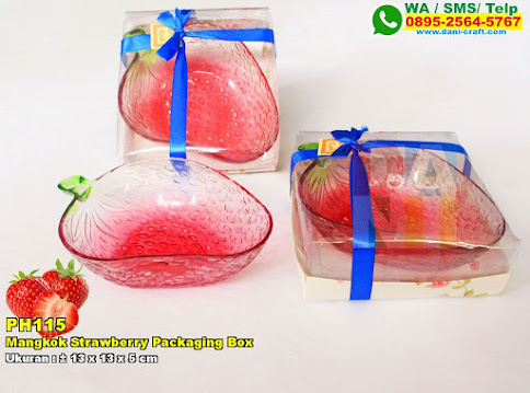 Mangkok Strawberry Packaging Box