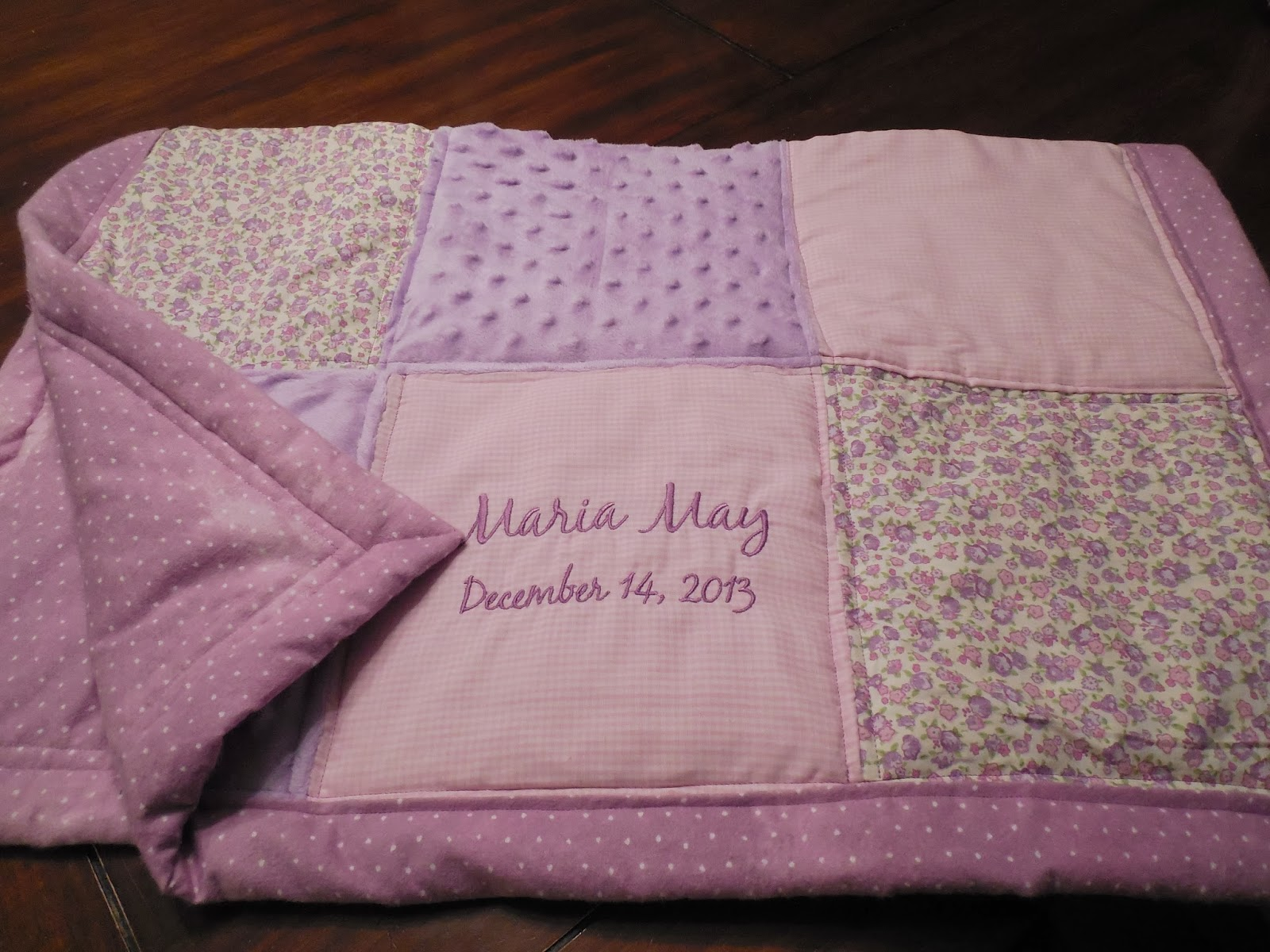 Working House Mom Wife Maria May S Personalized Baby Quilt