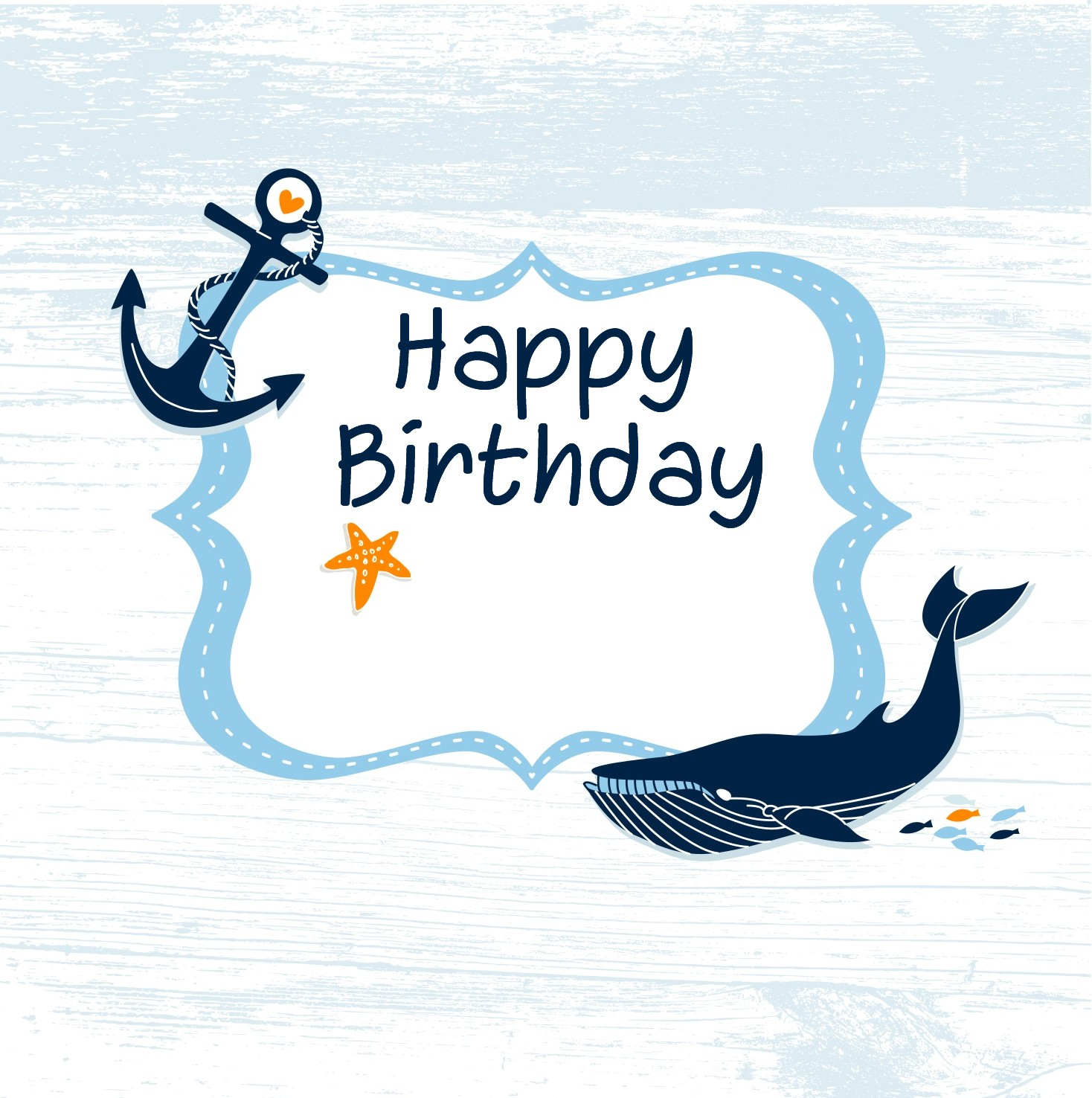 Little Birdie Blessings Free Nautical Printables