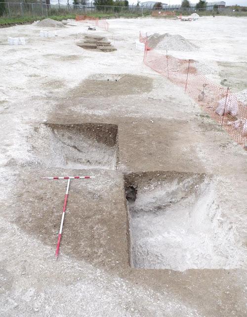 Neolithic camp at Larkhill linked to creators of Stonehenge
