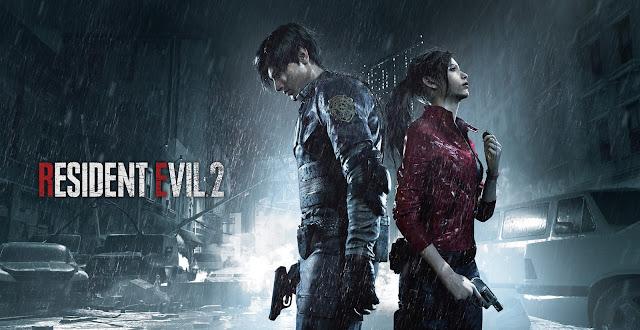 Resident Evil 2 - Character Keyart
