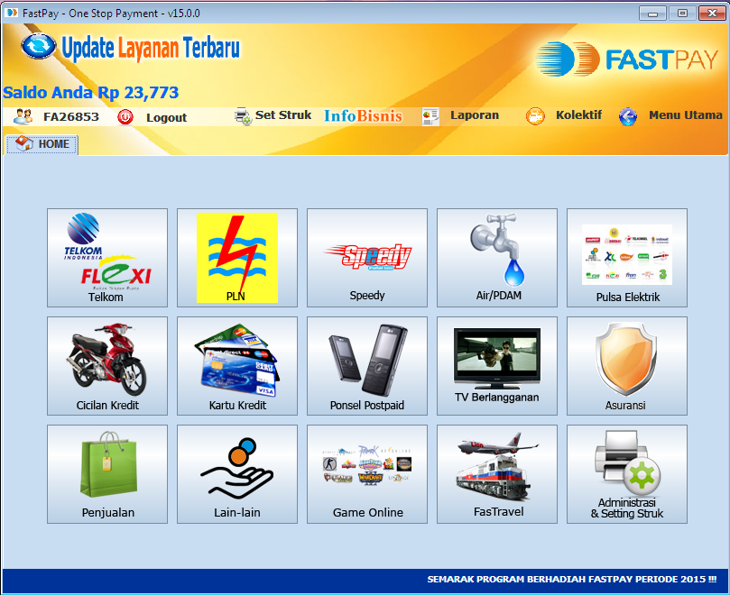 Pembayaran Listrik Online