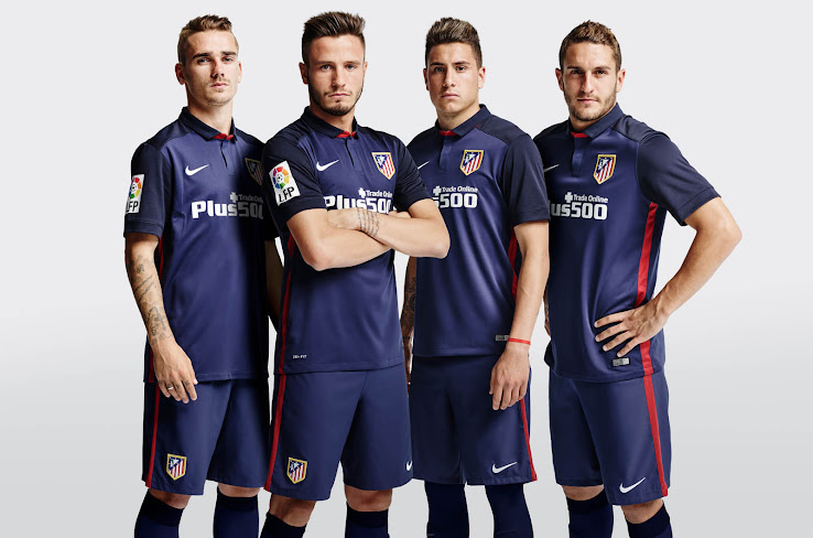 The new Nike Atlético Madrid 2015-2016 Away Shirt introduces a classic  design for Atlético a94552842