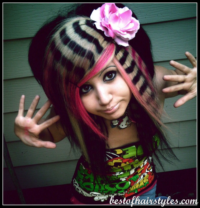 Wild hairstyles for teens