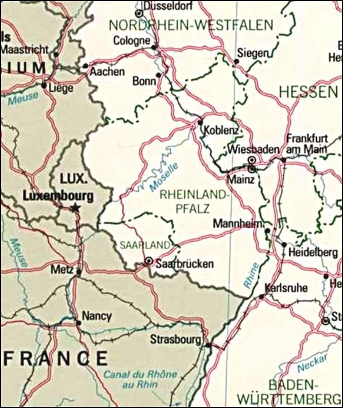 kaart duitsland afbeelding