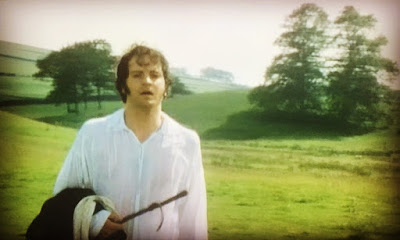 Mr Darcy as played by Colin Firth