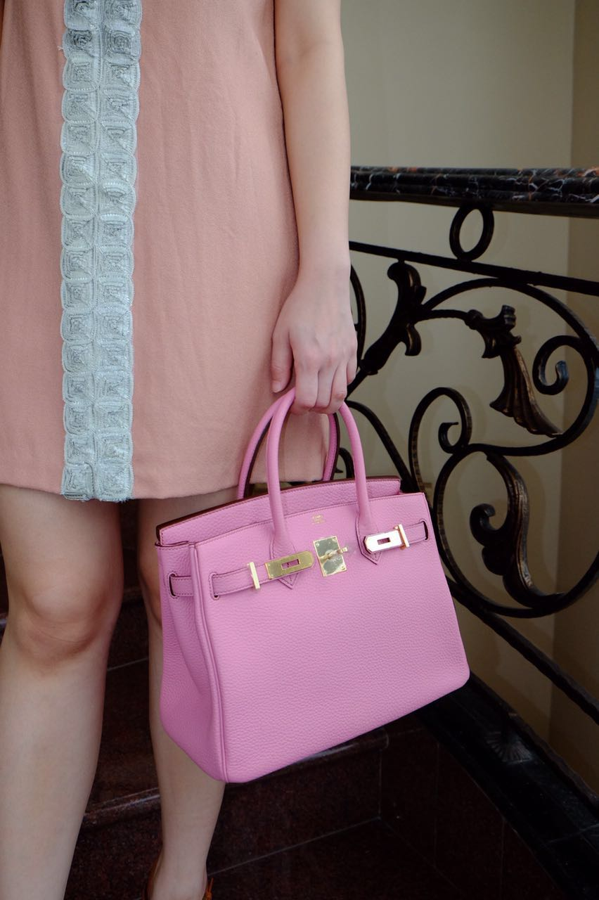 hermes tote - Kinda Kollection: Hermes Birkin B30Cm Pink Bubble Gum Clemence ...