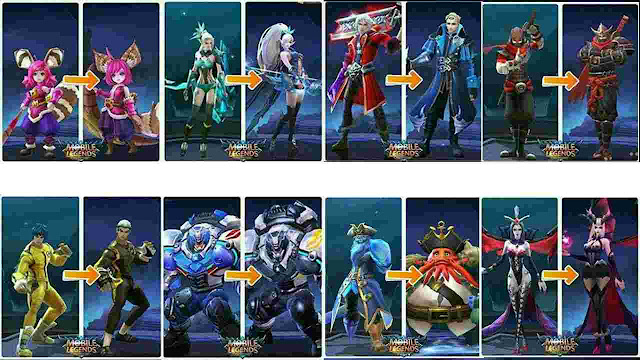 Download Script Skin Lama (Skin Old) Mobile Legends