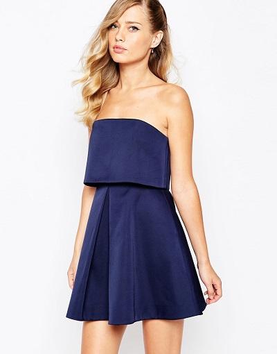 model mini dress casual