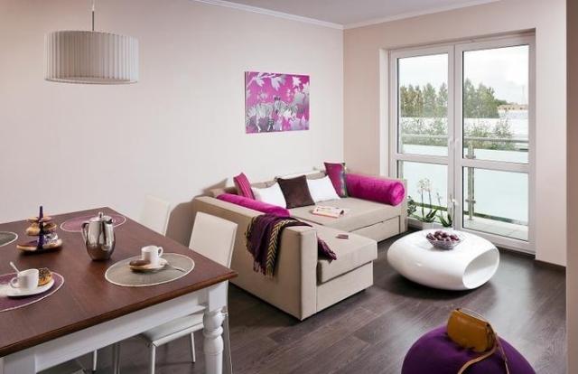 22 modern living dining room combo design ideas 2019. Black Bedroom Furniture Sets. Home Design Ideas