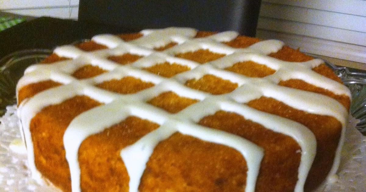 Sugar Spice And Spilled Milk Orange Ginger Pound Cake