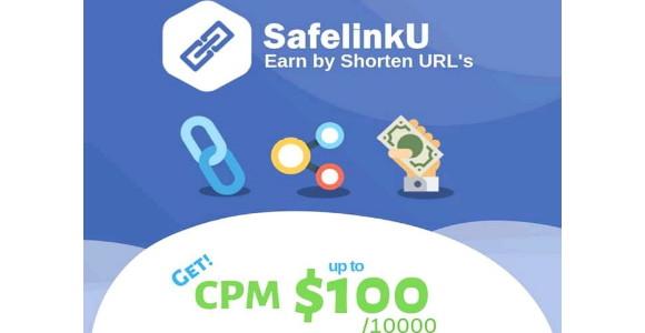 Web shortlink terbaik dengan cpm tertinggi