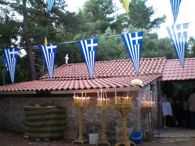 Ηγουμενίτσα: Πλήθος πιστών στο Αγιονήσι για τη Ζωοδόχο Πηγ