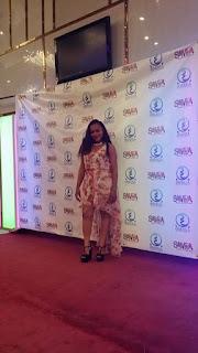 Gloria white Rising cameroonian film actor