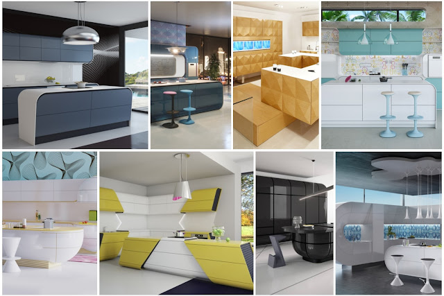 Modern Kitchens Designs By Karim Rashid That You Have Never Seen Alike Before
