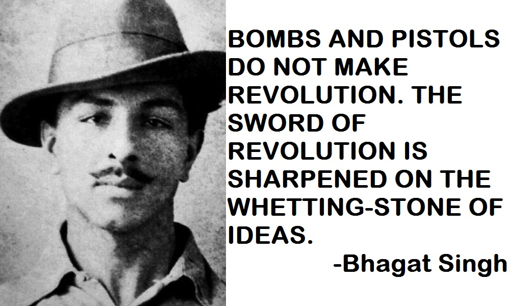 Great Sayings Quote By Indian Freedom Fighter