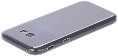 sebuah smartphone yang terpasang silikon