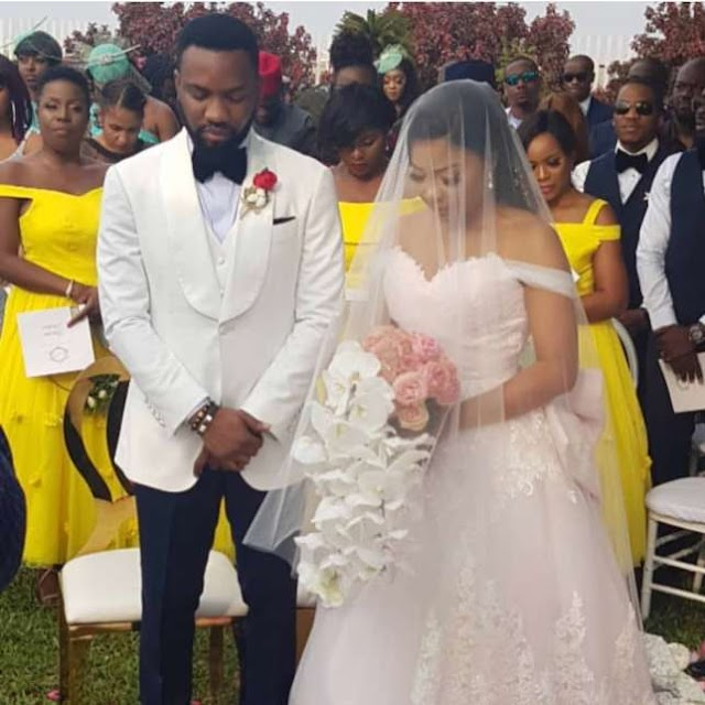 Love In The Air: Check Out 5 Nigerian Celebrities Who Got Married In 2018 (Photos)