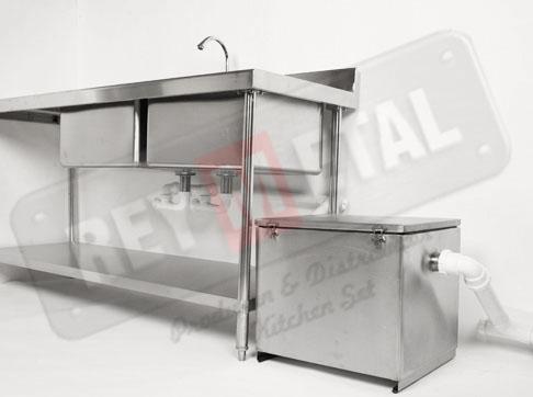 Jual Grease Trap Stainless Steel Anti Karat