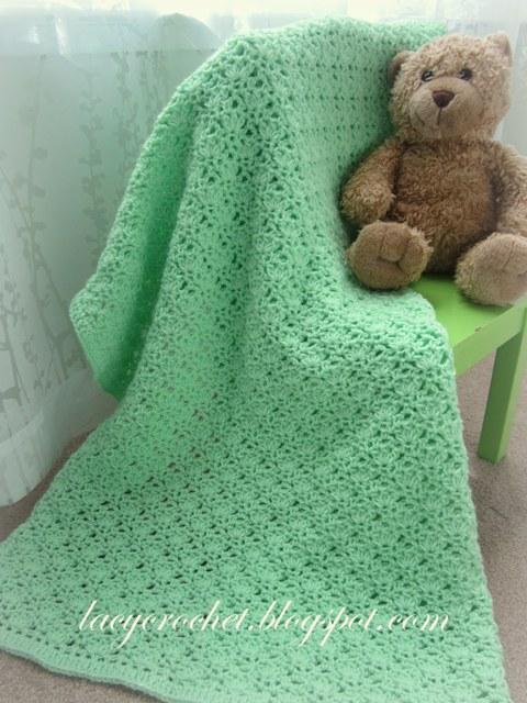 Lacy Crochet Free Baby Blanket Patterns Crochet Newborn Baby Booties