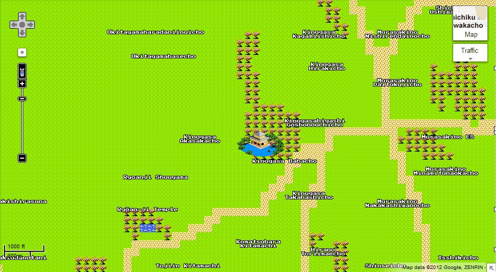 Google Maps 8-bit tour of the world   Karn Bulsuk: Full Speed