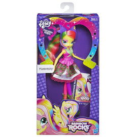 My Little Pony Equestria Girls Rainbow Rocks Neon Single Wave 1 Fluttershy Doll