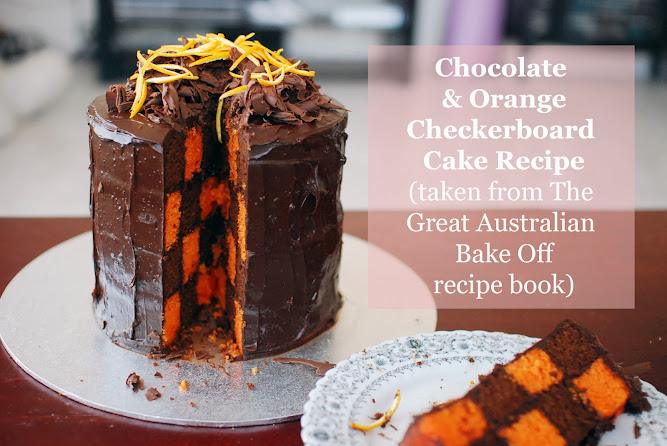 Checkerboard Cake The Great Australian Bake Off Recipe
