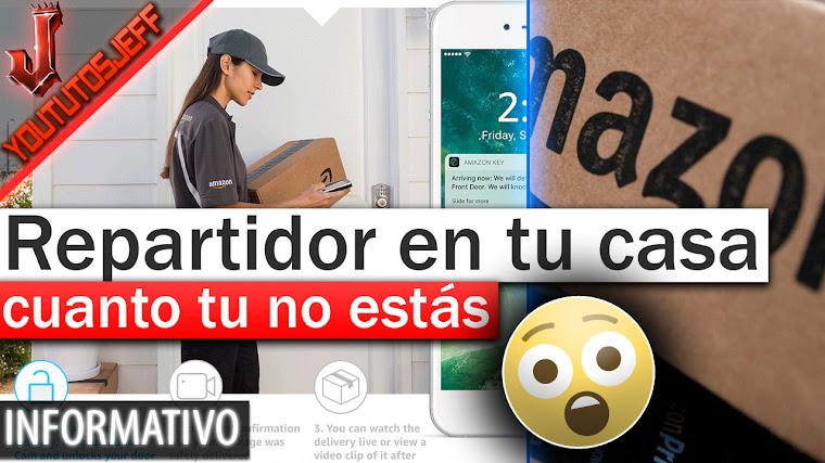 Amazon quiere que el repartidor entre a tu casa cuando no estás