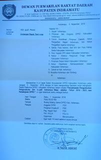DPRD Proses Pengunduran diri Bupati Anna