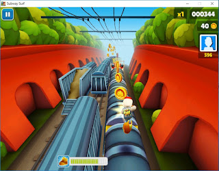 Screenshot Game Subway Surfers PC