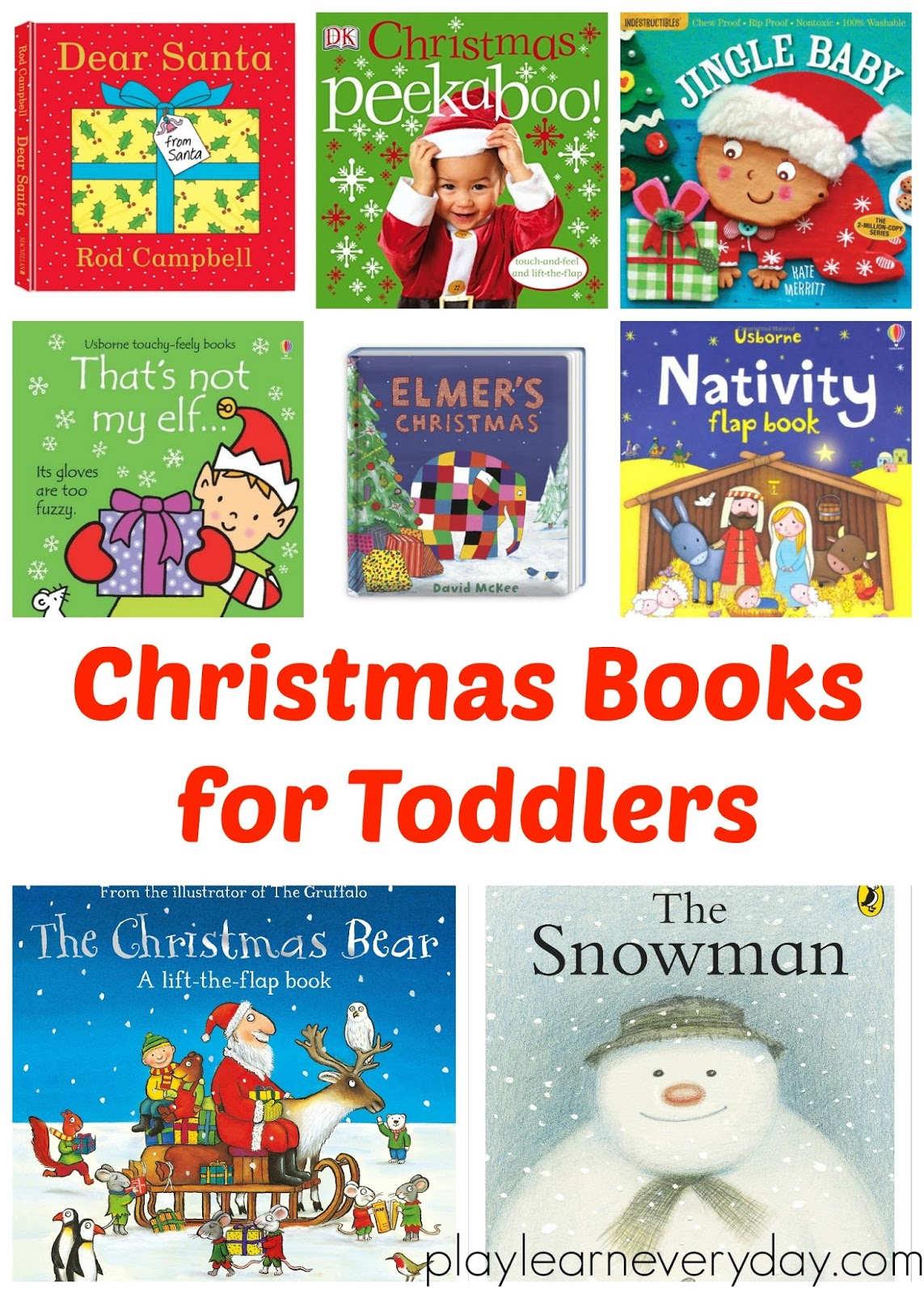 we love the snowman it is a classic and a great opportunity for toddlers to be able to tell their own little story to go along with the pictures in the - Christmas Story For Toddlers