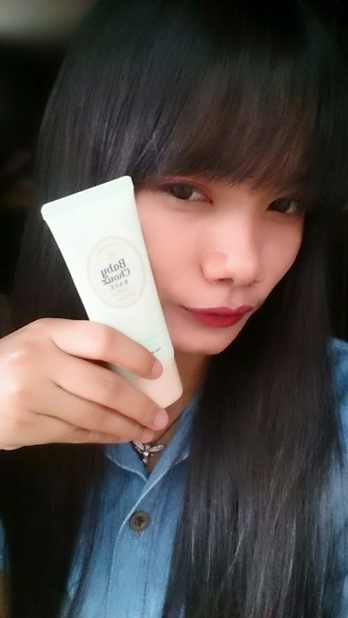 Review Etude House Baby Choux Base Mint