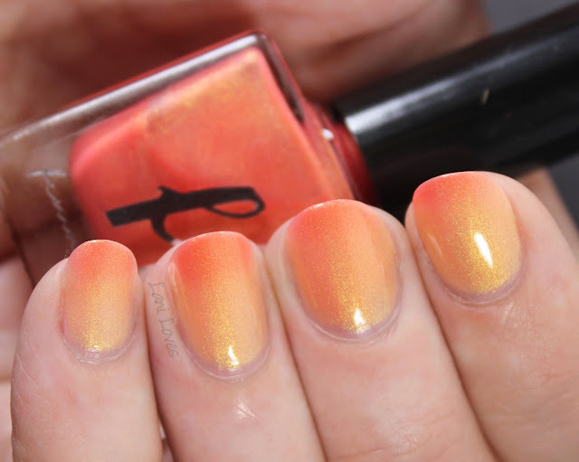 Femme Fatale My Lifelong Sorrow Nail Polish Swatches & Review
