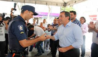 Guarda Municipal de Mogi das Cruzes recebe seis novas viaturas e inicia ações de Rondas Escolares