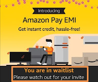 amazon pay emi register