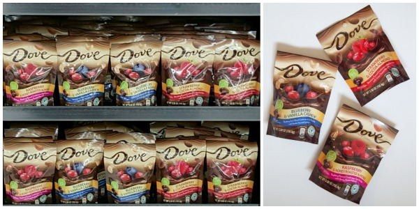 Dove Chocolates new Fruit and Nuts are a better for you option!  #ad #LoveDoveFruits