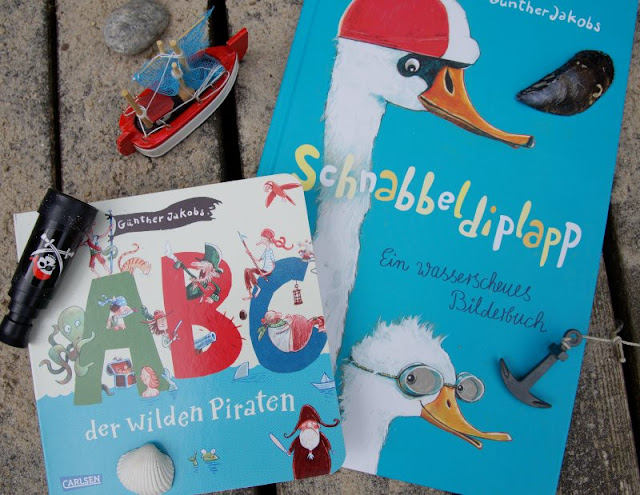 #Bilderbuchliebling: Günther Jakobs und die wilden Piraten. Tolle maritime Kinder- und Bilderbücher!