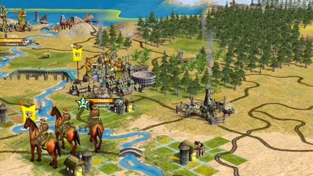 Sid Meier's Civilization 4 PC Games Gameplay