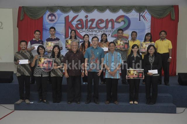 Sekolah Kristen Kalam Kudus Surakarta Gelar Kaizen 2 Championship