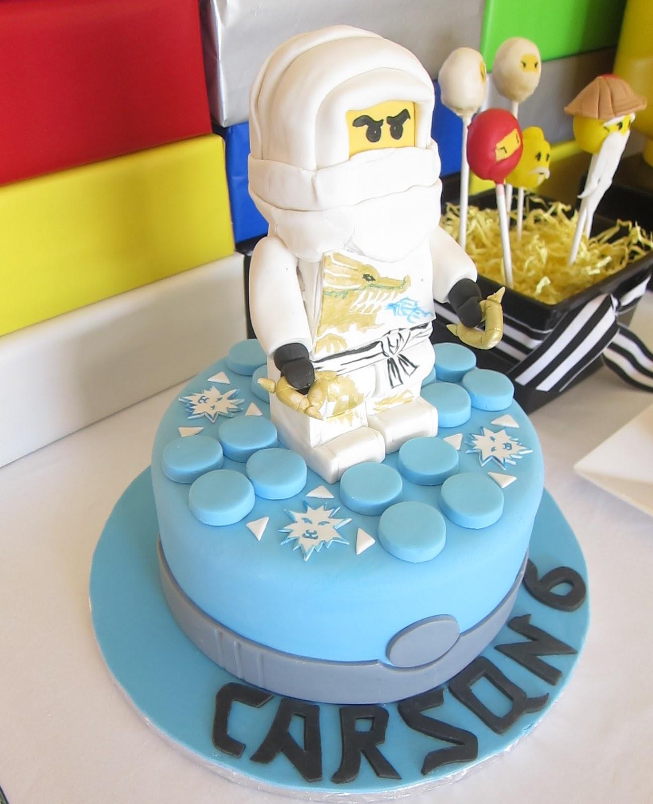Simplyiced Party Details Lego Ninjago Birthday Party