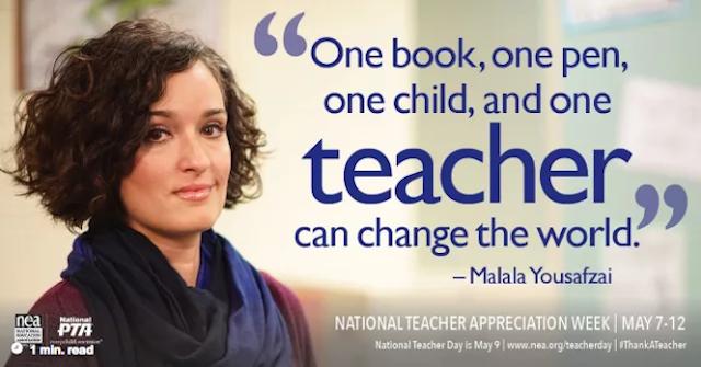 Quotes Pendidikan dari Aktivis Pendidikan asal Pakistan, Malala Yousafzai (nea.org)