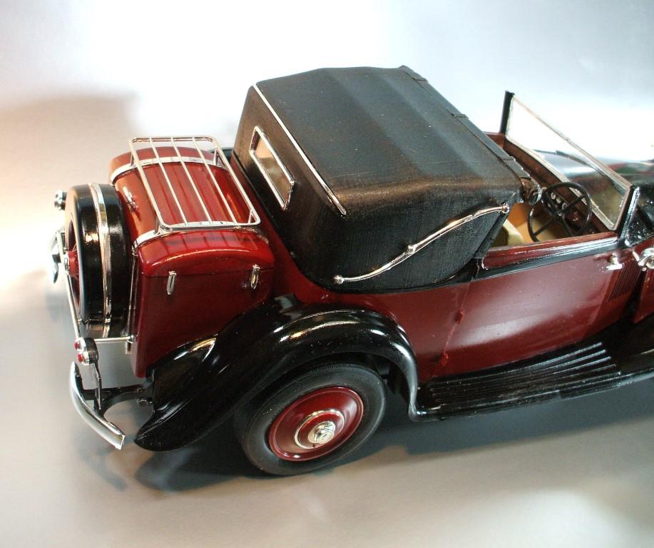 Model Building: ROLLS ROYCE PHANTOM 11 CONTINENTAL 1934