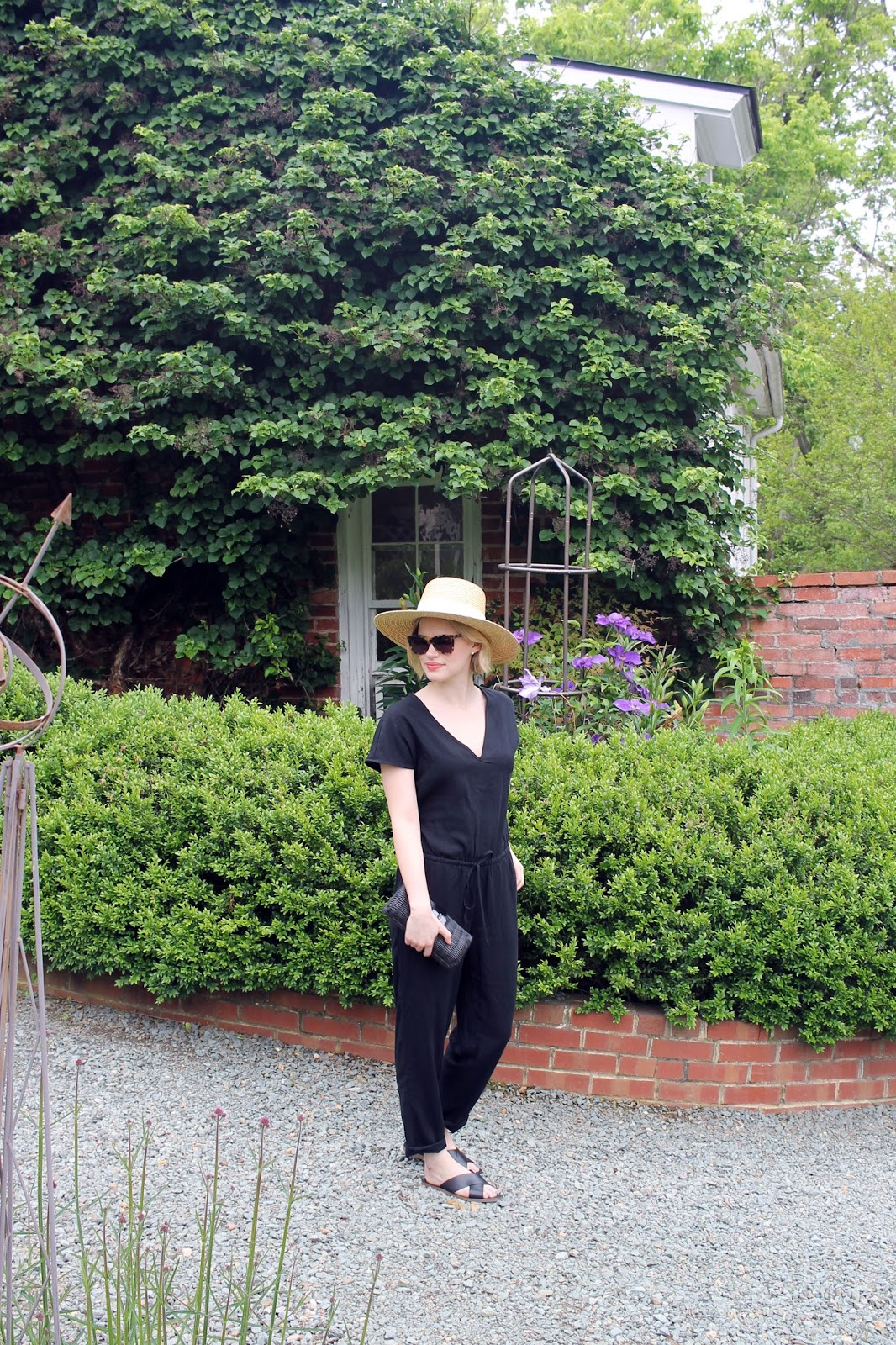 J.Crew RELAXED JUMPSUIT IN TENCEL-LINEN