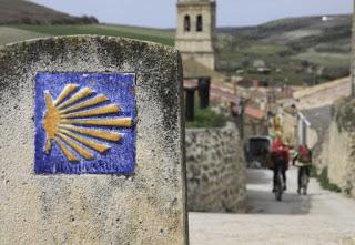 pellegrinaggio verso Santiago de Compostela