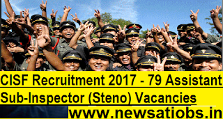 CISF-Recruitment-79-Assistant-Sub-Inspector