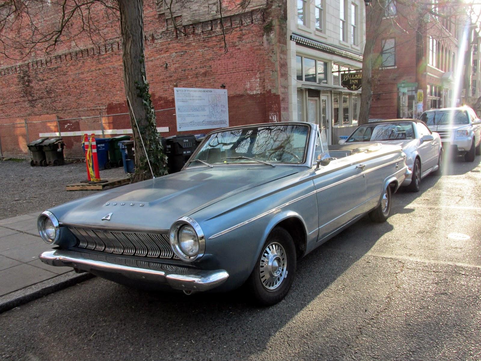 Seattle's Classics: 1963 Dodge Dart Convertible